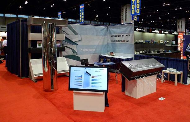 2012.01 Airtecnics has taken part at the AHR Expo exhibition celebrated in Chicago